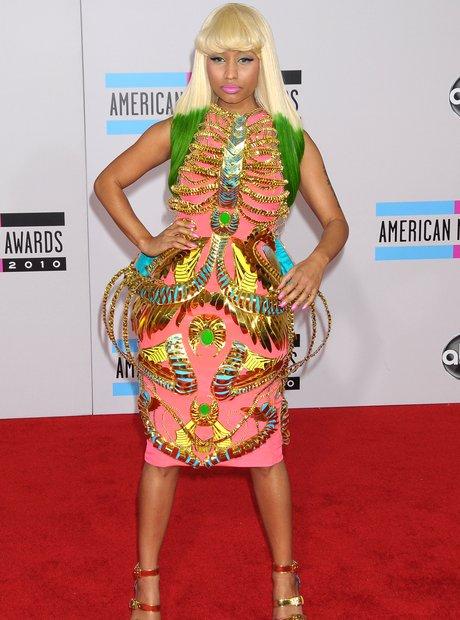 Nicki Minaj at the american music awards