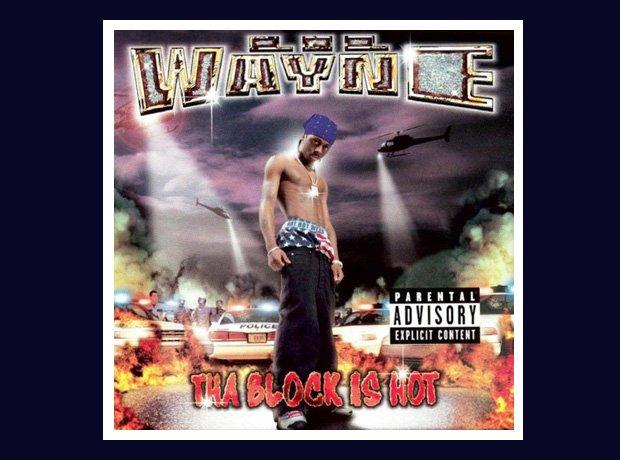 lil wayne 'Tha block is hot' album cover