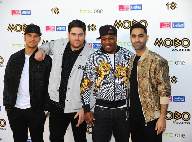 Rudimental at the Mobo Awards 2013