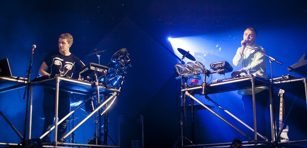 Disclosure on stage