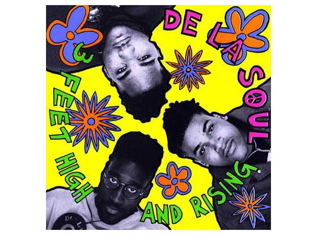 De La Soul, '3 Feet High And Rising' album cover artwork