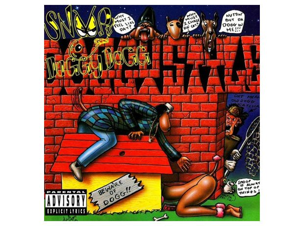 Snoop Dogg, 'Doggystyle' album cover artwork
