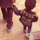 Image 5: Blue Ivy Carter wearing a black leather jacket
