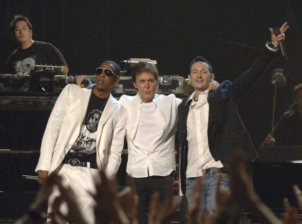 Jay Z, Linkin Park and Paul McCartney