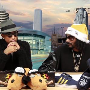Snoop Dogg interviewing Pharrell