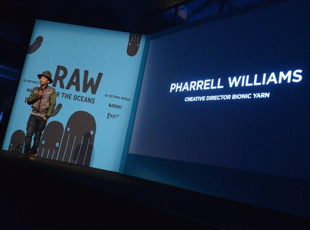 Pharrell Williams G Star event