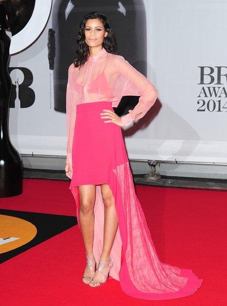 Aluna Francis at the Brit Awards 2014