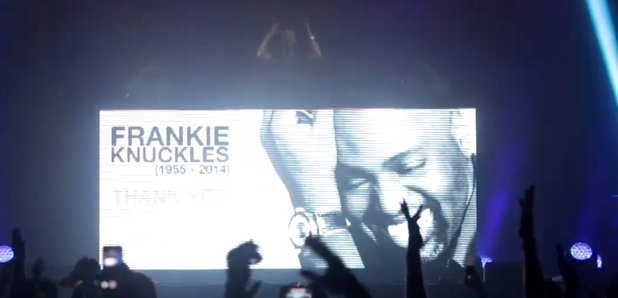 Frankie Knuckles Tribute by David Guetta