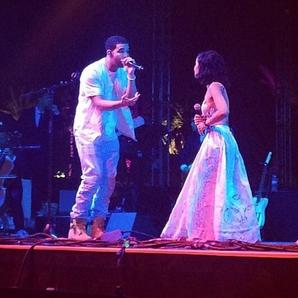 Drake Jhene Aiko Coachella 2014