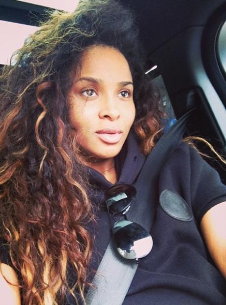 Ciara natural selfie Instagram