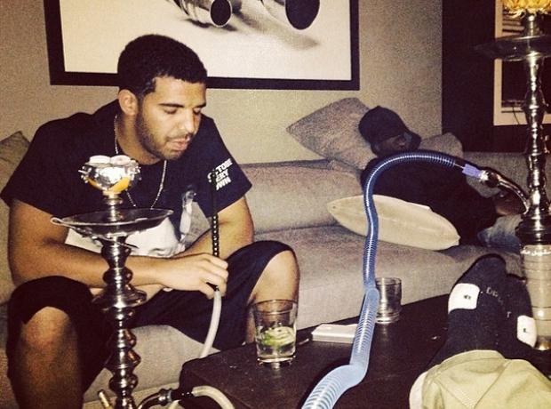 Drake shisha Instagram