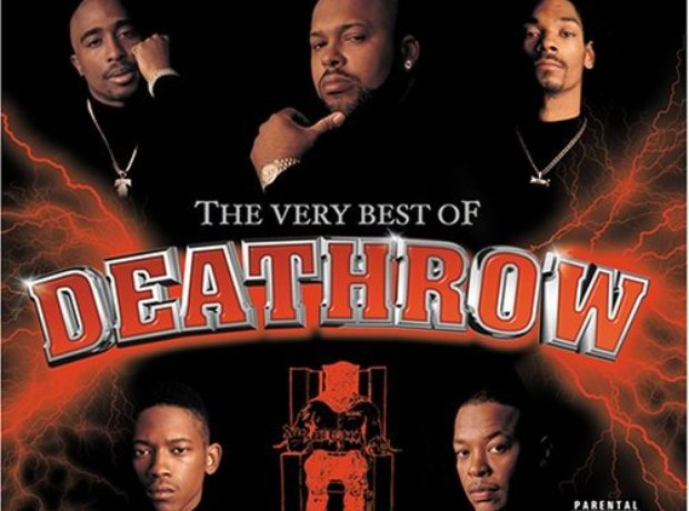 Dr Dre Death Row Records promo