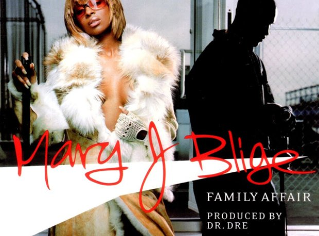 Mary J Blige family affair artwork