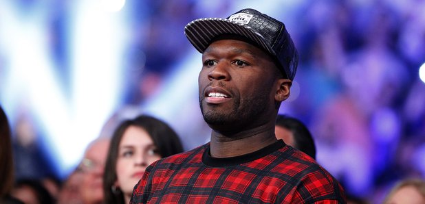 50 Cent attends boxing match
