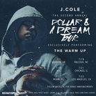 J Cole Dollar And A Dream Tour