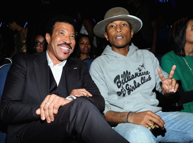 Pharrell and Lionel Richie BET Awards 2014
