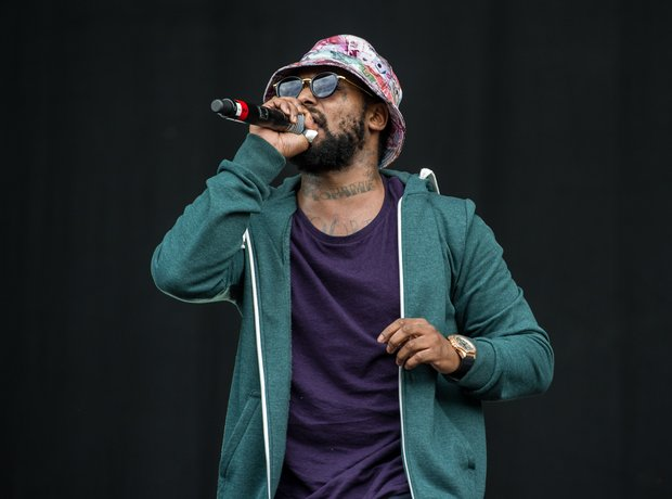 Schoolboy Q  at Wireless Festival 2014 Birmingham