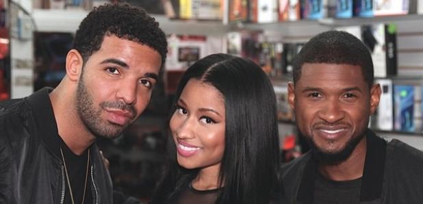 Drake Nicki Minaj Usher