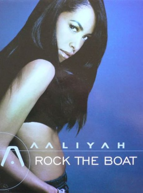 Aaliyah Rock The Boat Artwork