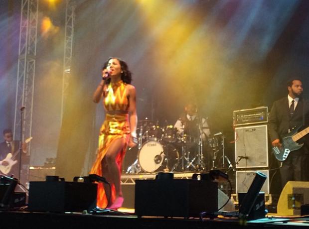 Jhene Aiko V Festival 2014
