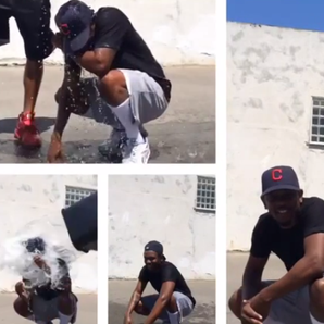 Kendrick Lamar Ice Bucket Challenge