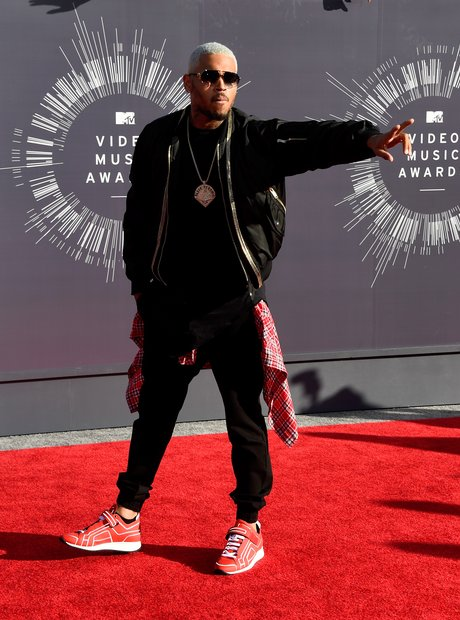 Chris Brown MTV VMAs 2014