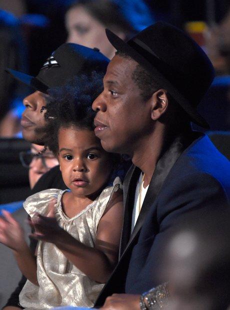 Jay Z and Blue Ivy at the VMAs 2014