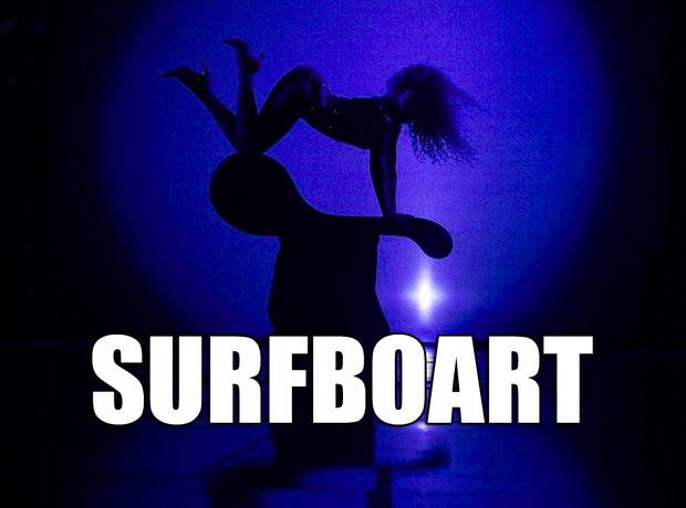 Beyonce Surfboart