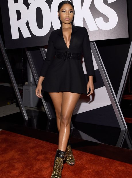 Nicki Minaj Fashion Rocks 2014