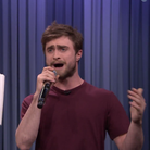 Daniel Radcliffe rapping