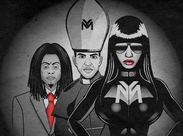 Nicki Minaj Only artwork