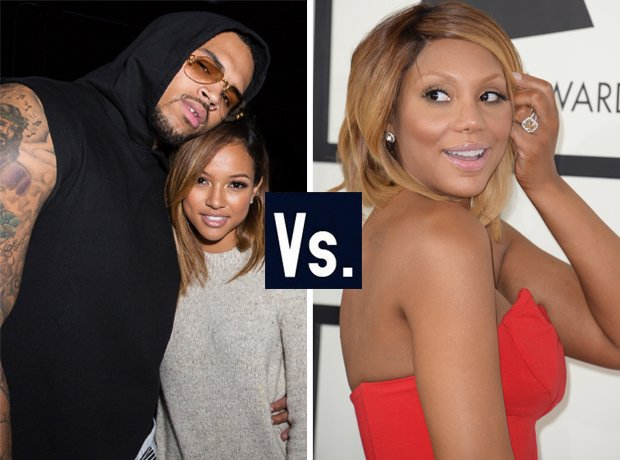 Chris Brown vs Tamar Braxton