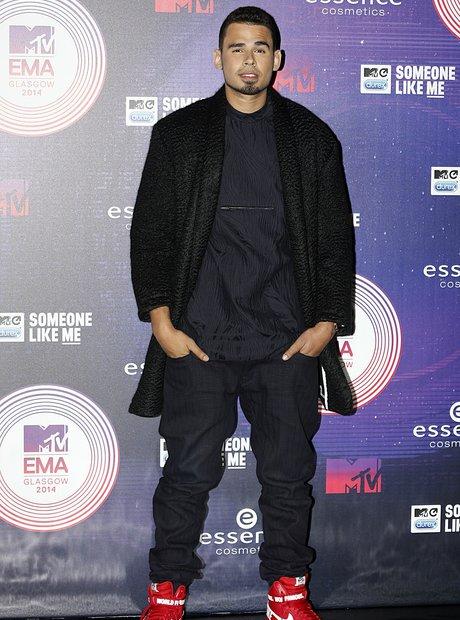 Afrojack MTV EMA's 2014 Arrivals