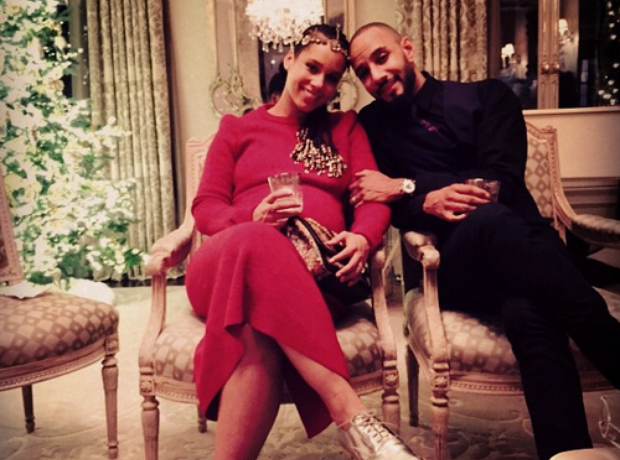 Alicia Keys Baby Shower