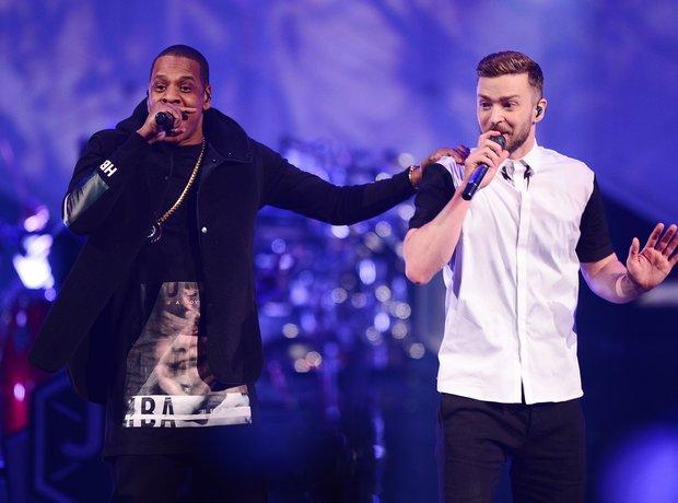 Jay Z Justin Timberlake 2014