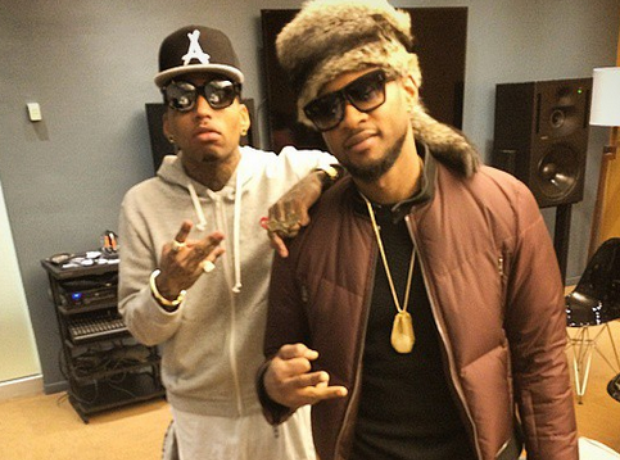 Kid Ink and Usher
