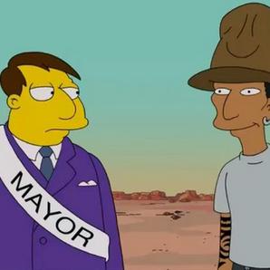 Pharrell The Simpsons