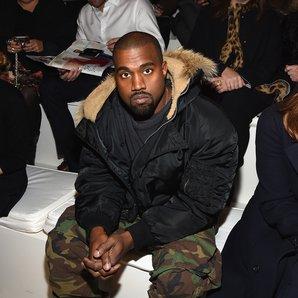 Kanye West Fashion Week