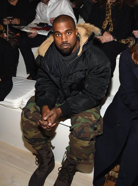 Kanye West Fashion Week