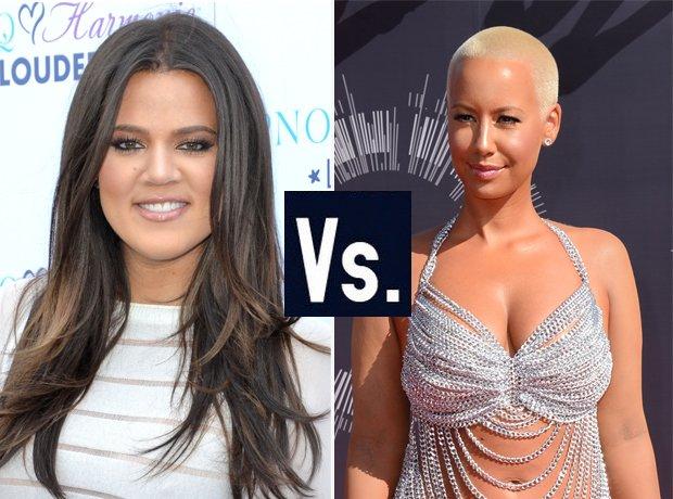 Khloe Kardashian Vs Amber Rose