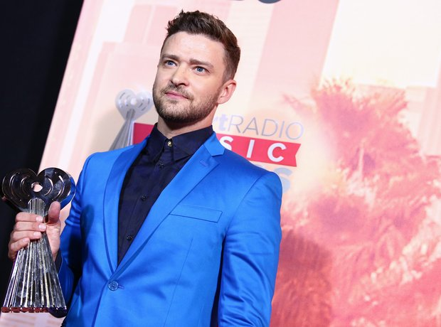 Justin Timberlake iHeartRadio Awards Red Carpet 20