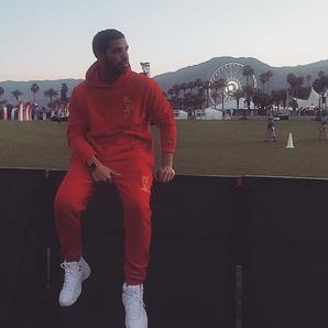 Drake at Coachella 2015
