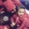 Image 1: Chris Brown and daughter Royalty