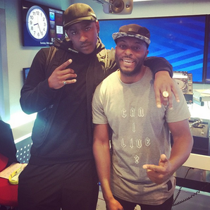Manny Norte and Skepta
