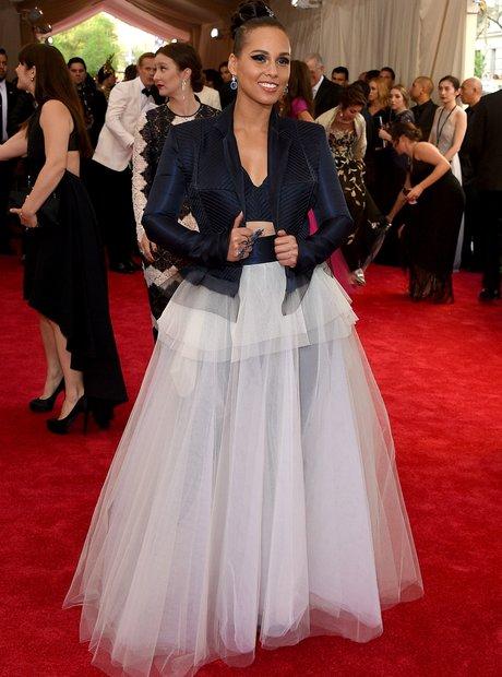 Alicia Keys MET Ball 2015