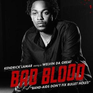 Kendrick Lamar in Taylor Swift's Bad Blood video