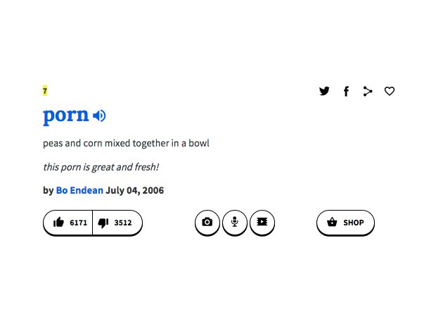 Sarcastic Urban Dictionary