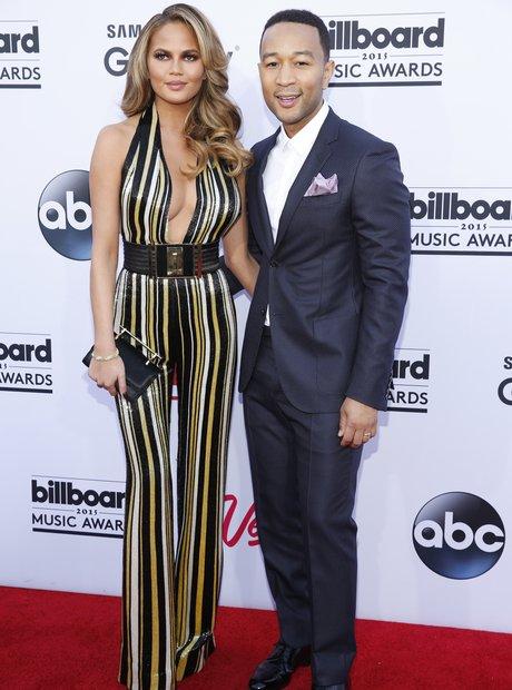 John Legend and Chrissy Teigen Billbaord Music Awa