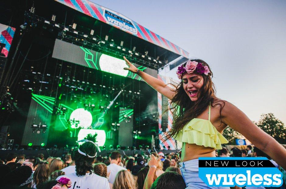 David Guetta Wireless Festival 2015