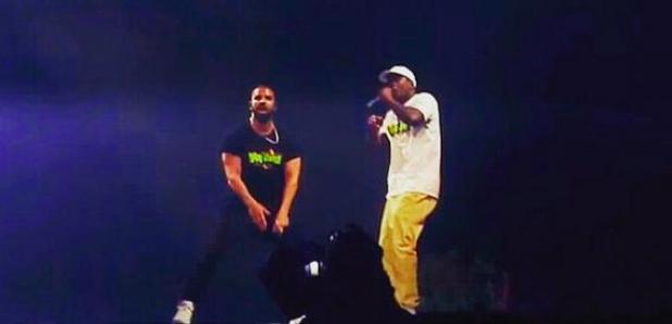 Drake and Skepta